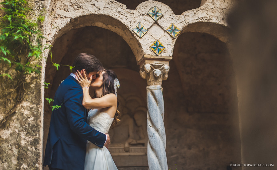 wedding in amalfi ravello villa cimbrone roberto panciatici photographer