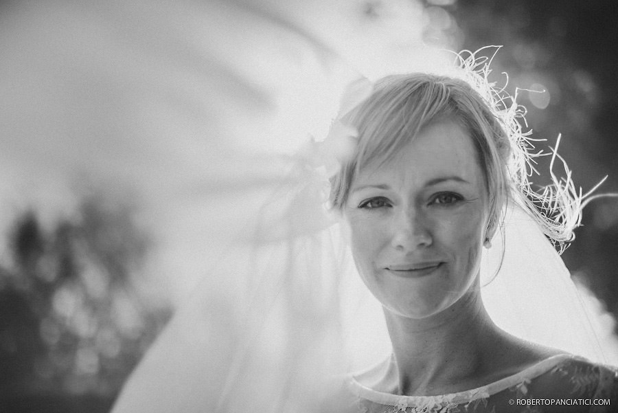 Wedding in Artimino Tuscany Bride Portrait