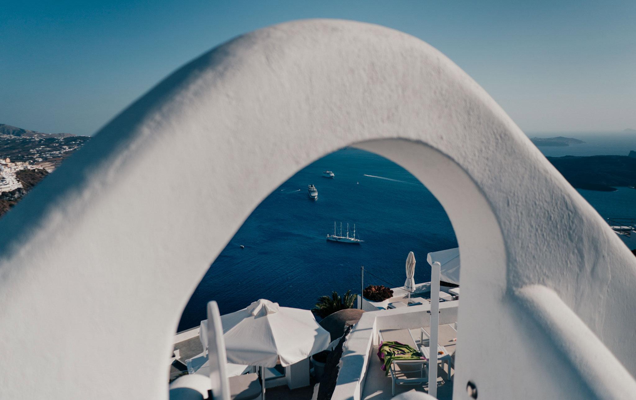 Santorini wedding photography by roberto panciatici photographer