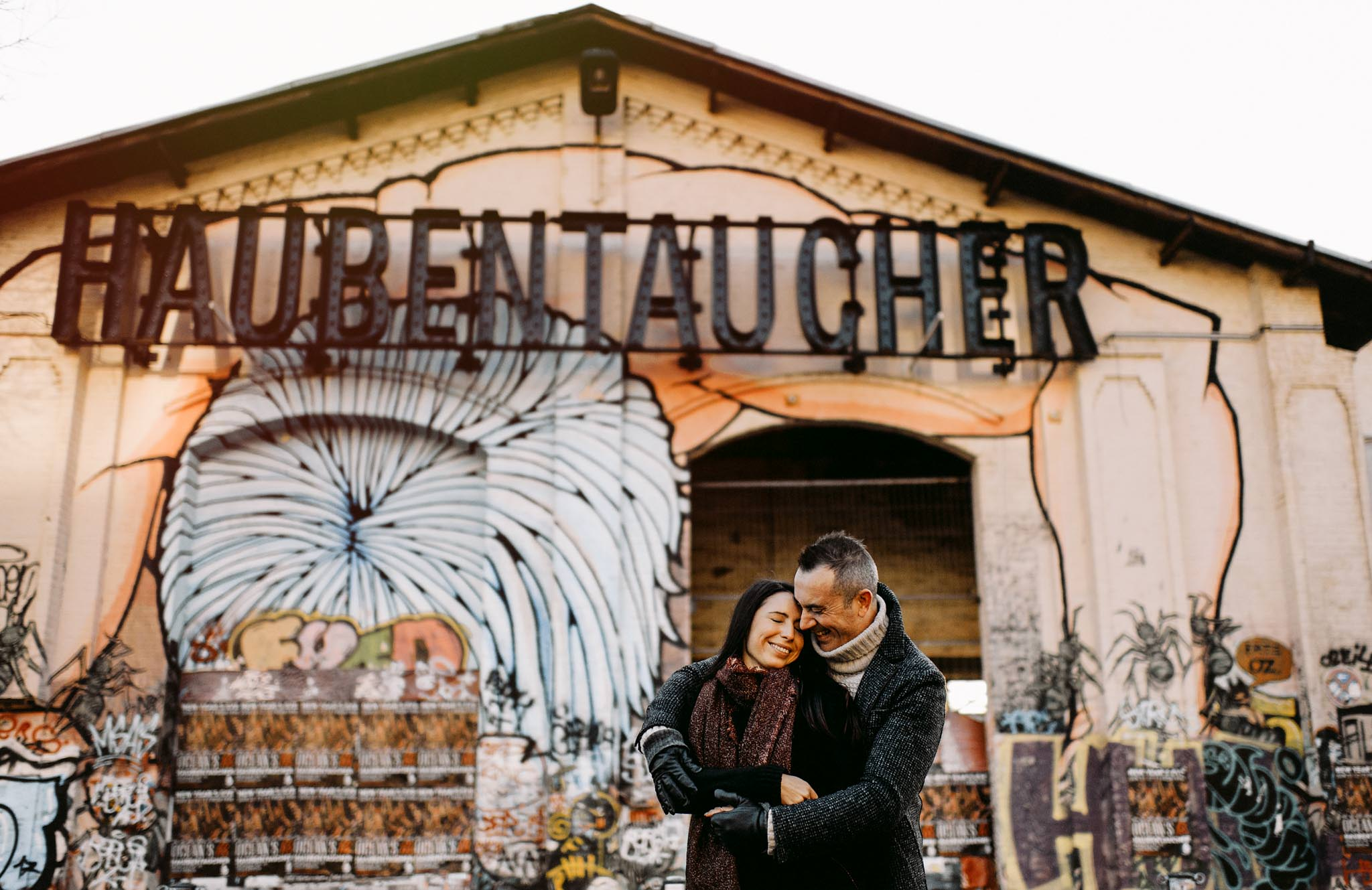 Berlin Wedding Photography creative portrait