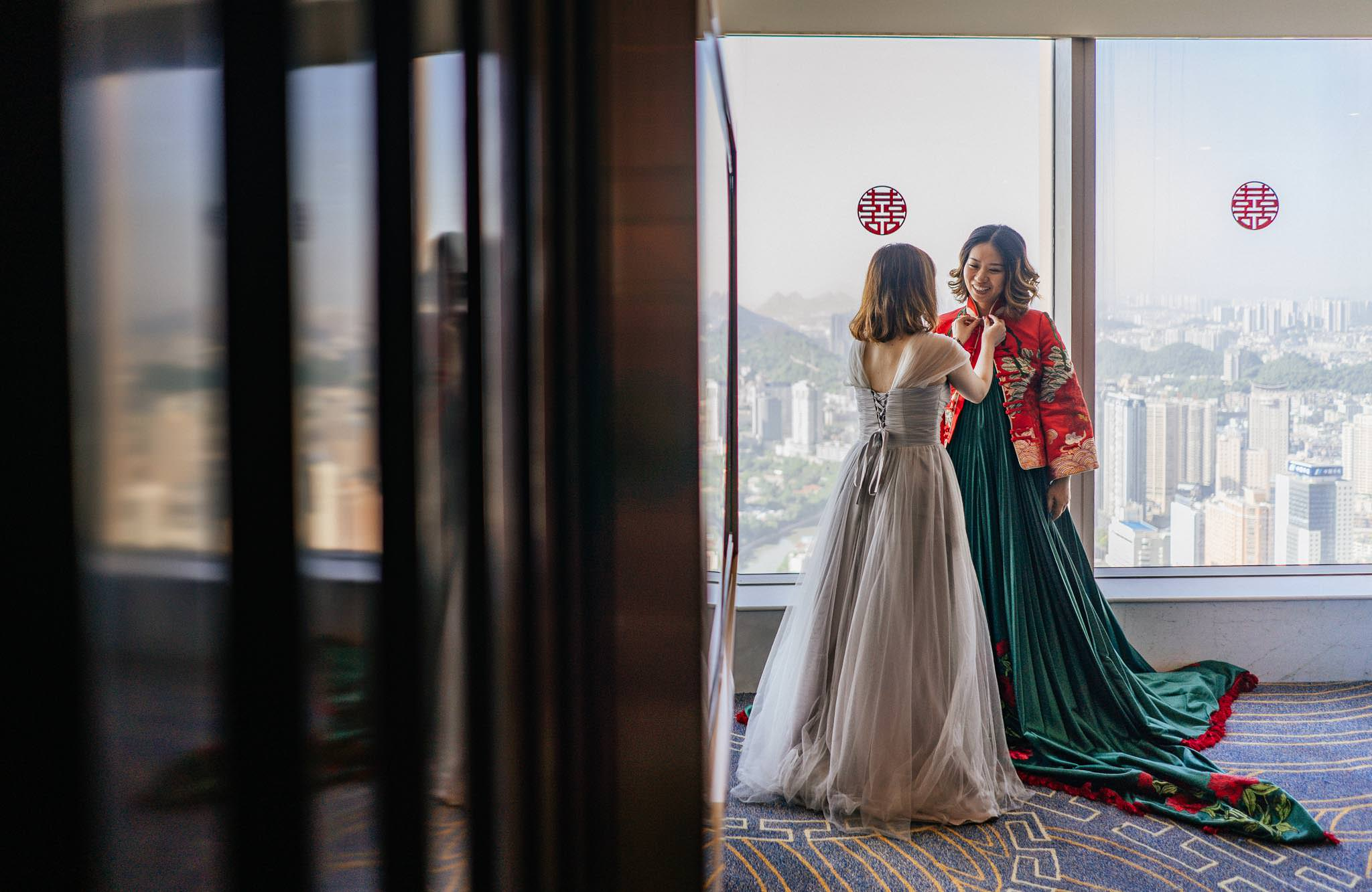 Sofitel Guiyang Hunter bride Getting ready wedding