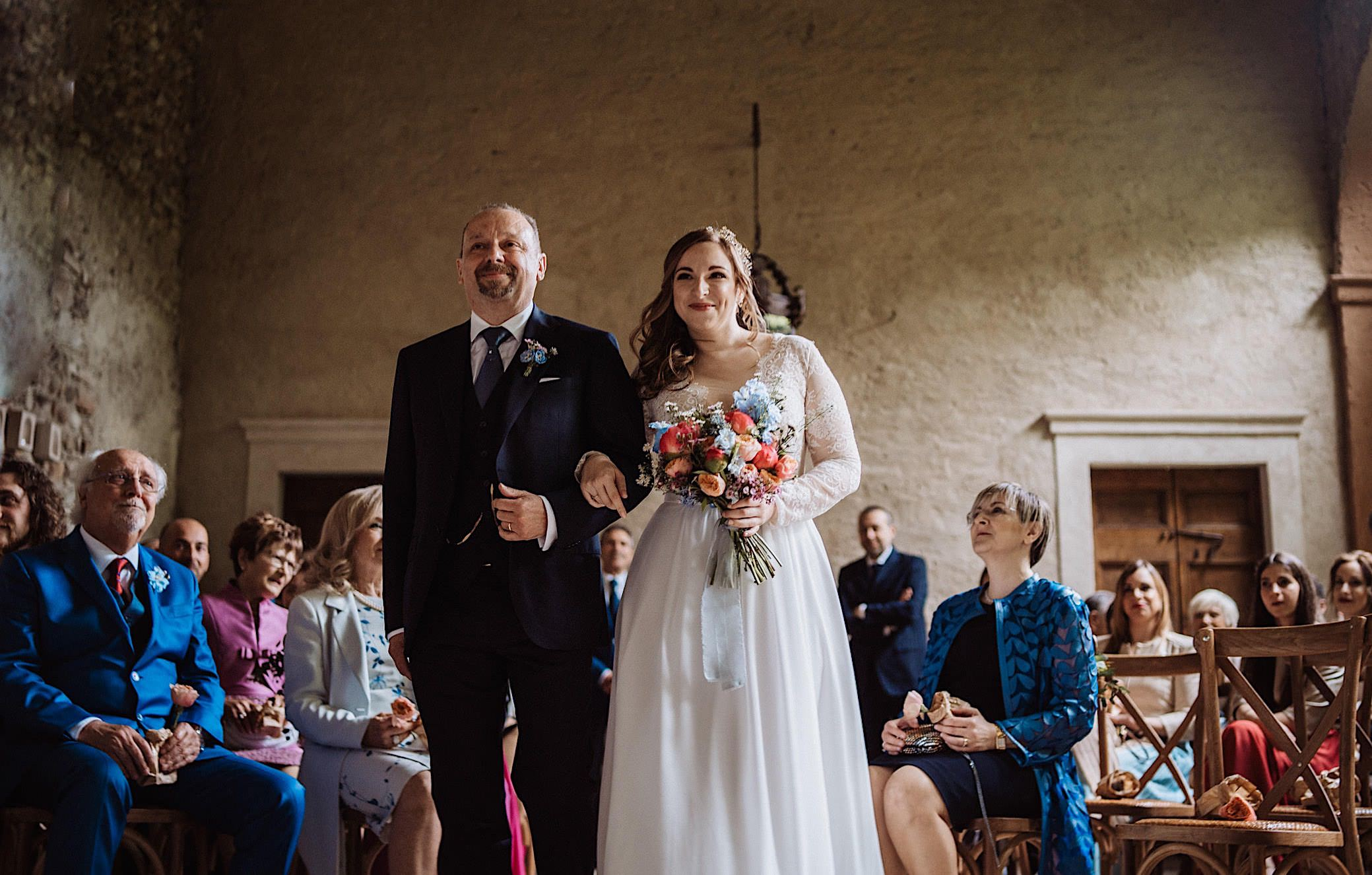 wedding ceremony at convento dell annunciata wedding photography