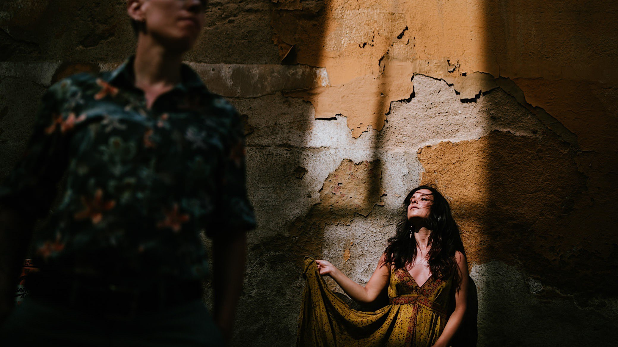 creative portrait engagement barcelona spain